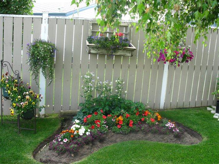 Сад на даче своими руками фото