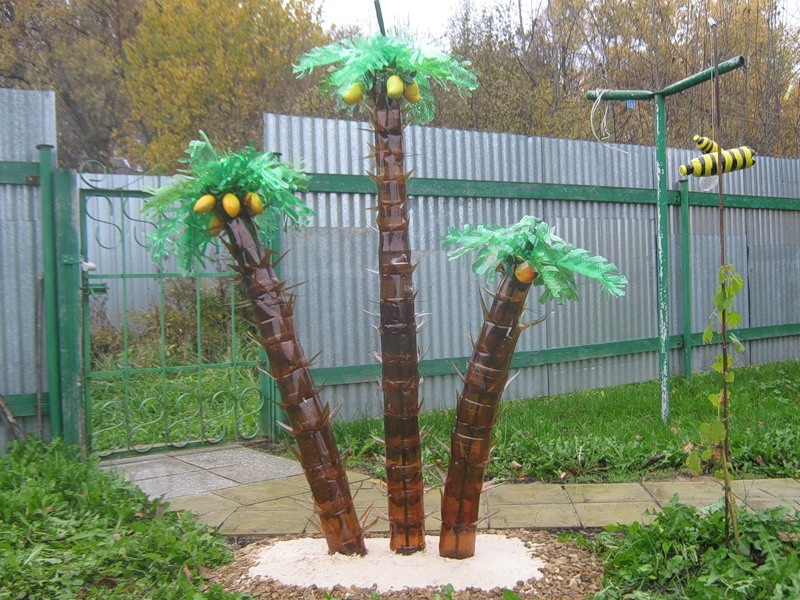 Поделки своими руками пальма фото