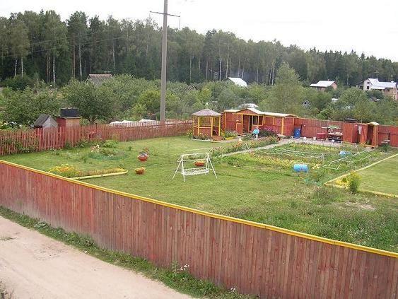 Дизайн участка загородного дома 8 соток 67
