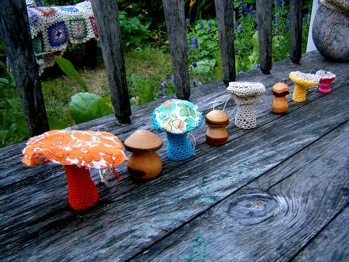 Фигурки для сада своими руками