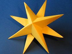 Звезда в 3д своими руками