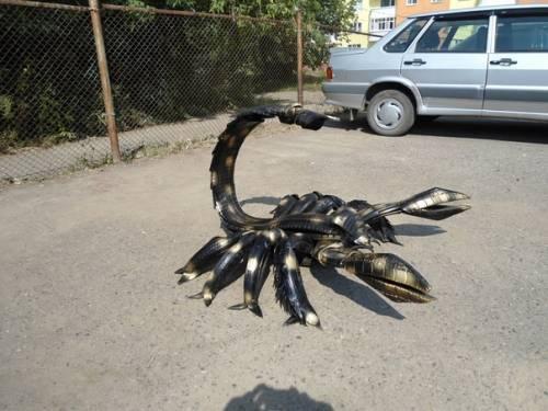 Скорпион своими руками фото