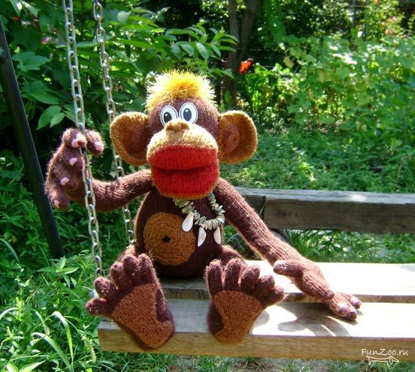 Как сделать большую обезьяну своими руками