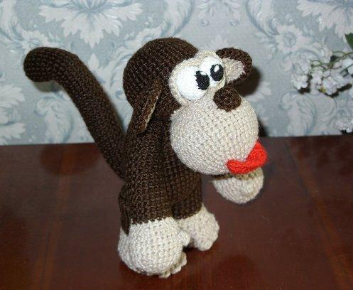 Делаем обезьяну своими руками