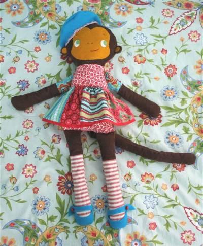 Новогодний костюм своими руками обезьянка