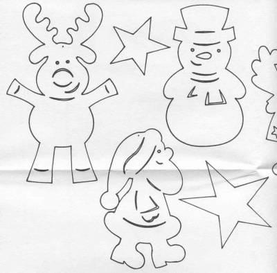 Елочные игрушки своими руками обезьянка из бумаги