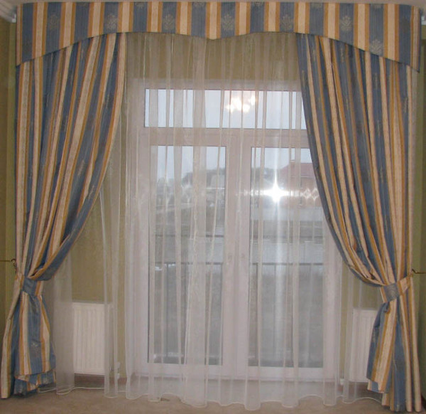 Выкройки и виды штор