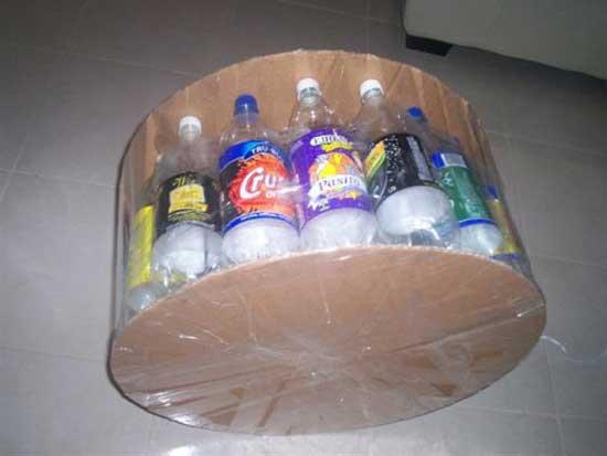 Мебель из пластиковых бутылок своими руками мастер