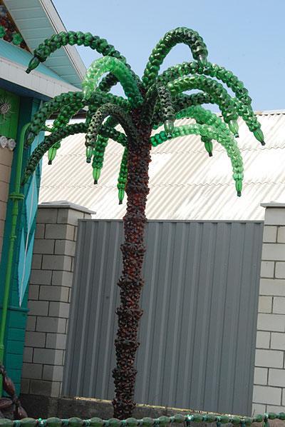 как сделать пальму из шины пошаговая инструкция - фото 6
