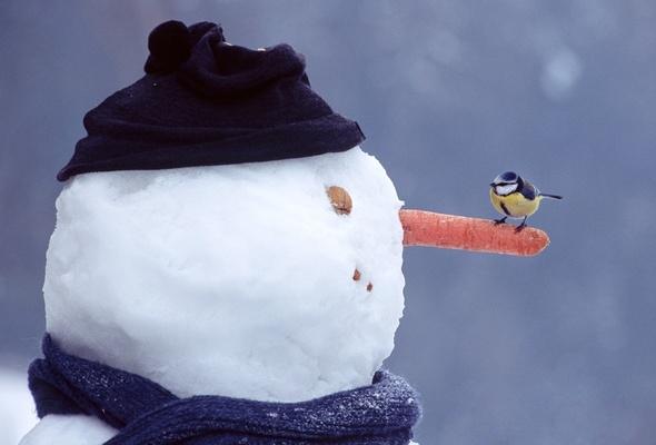 Снеговик большой своими руками мастер класс