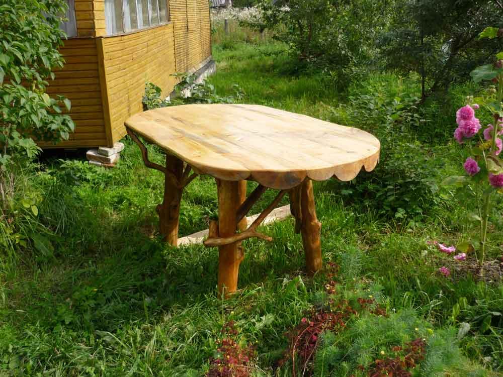 Мебель своими руками для дачи из дерева своими руками фото