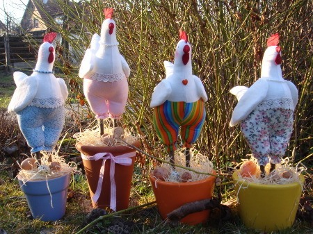 Сад огород поделки своими руками из пластиковых