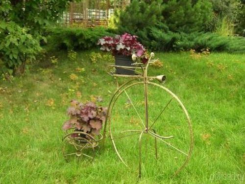 Поделки из метала для сада